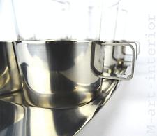 modernist WILKENS Tee Glas Halter Set 60er Tea Glasses with Holder Tray vintage