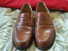 Mens Barker Moccasin Styled Leather Shoes Size 8.5