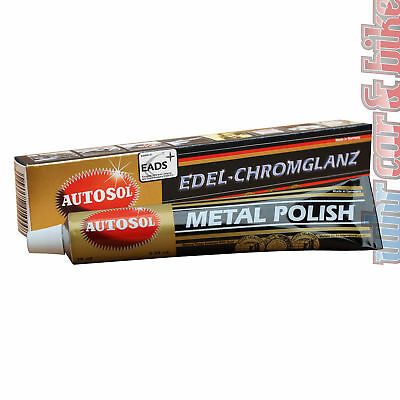 Autosol Edel-Chromglanz 75ml Hochglanz-Chrompolitur Dursol metal polish