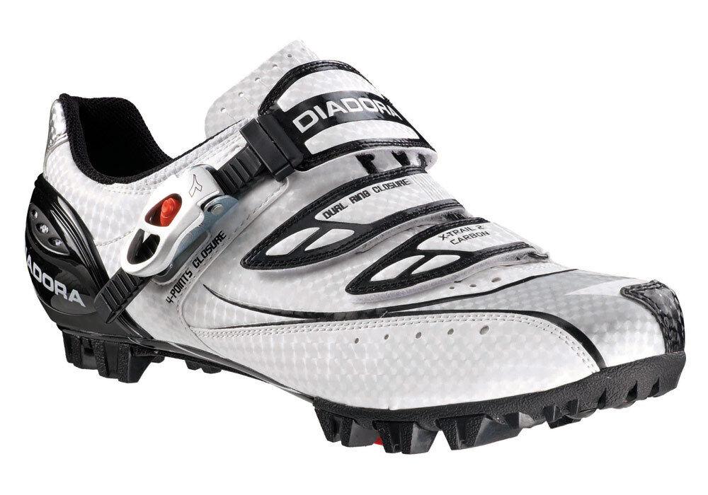 zapatos MTB DIADORA Mod.X-TRAIL 2 Carbon Color Bianco negro