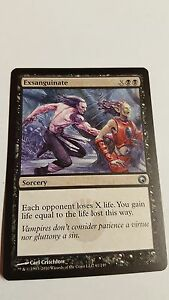1x EXSANGUINATE - Rare - ROE - MTG - NM - Magic the Gathering