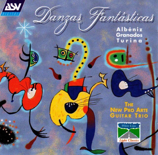 New Pro Arte Guitar Trio • Danzas fantásticas CD