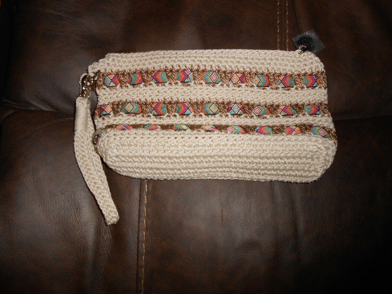 The SAK Crocheted Wristlet Multicolor