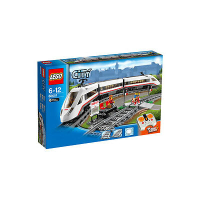 NEW Lego City High-speed Passenger Train 60051