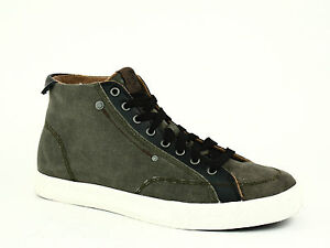 0f5ec118497f Diesel D-78-MID Mens Casual Olive Nigh Textilel and Leather Shoe ...
