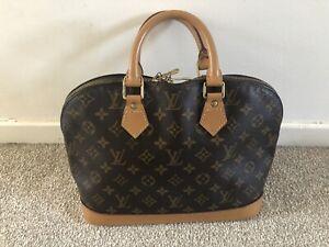 Louis Vuitton Alma Pm Monogram Bag Ebay
