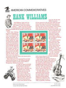 419-29c-Hank-Williams-2723-USPS-Commemorative-Stamp-Panel