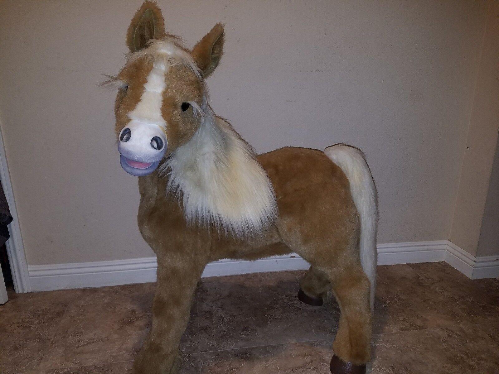 Furreal friends butterscotch life size pony pony pony interactive b61da9