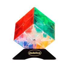 2x2x2 Mini Cube  High IQ for Kids Educational Tools Puzzle,Transparent
