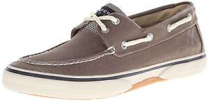 Sperry-Top-sider-Men-039-s-Halyard-2-Eye-Boat-Shoes-0777867-Choco-honey
