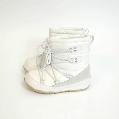 FITFLOP WINTER SNOW/SKI BOOTS (KIDS) GIRLS WHITE, PINK OR BLACK UK 12 uk13