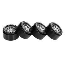 4 x1,9 Zoll  Beadlock Felge Aus Metall Für 1//10 Axial SCX10 II 90046 RC Car Rock