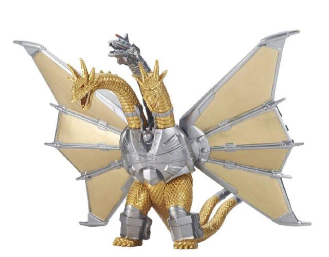 Bandai Godzilla 2018 Película Monster Serie Mecha Rey Ghidorah Figura JP