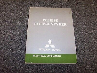 2007 Mitsubishi Eclipse & Spyder Electrical Wiring Manual ...