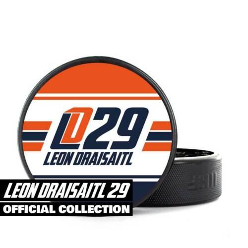 Leon Draisaitl Puck offizieller Eishockeypuck aus SCALYYWAG® x LD29 Collection
