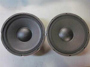 """NEW 2 12/"""" SubWoofer Speakers.8 ohm.Twelve inch Bass.Woofer PAIR.Sub Driver"""