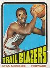 1972 Topps Stan Mckenzie #84 Basketball Card