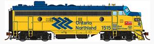 Rapido 1 87 Ho ONR Ontario Northland Chevron FP7 Loco Rd   1515 DC DCC SONIDO