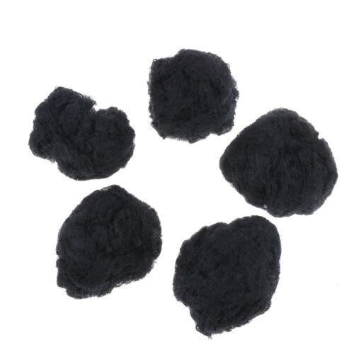 50//100Pcs Women hair nets invisible elastic edge mesh black snood wig cap MEUSd