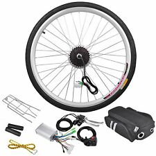 "36V 250W 26"" Rear Wheel Electric Bicycle Light Motor Kit Cycling Hub Conversion"