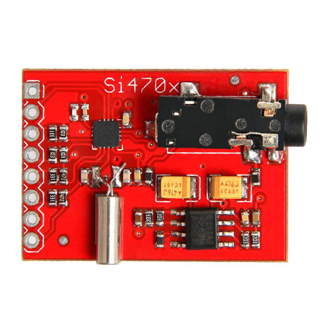 Breakout Evaluation Board Si4703 FM RDS Tuner For AVR ARM PIC Arduino