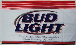 Budweiser-Bud-Light-Bier-USA-grose-150-cm-Fahne-Flagge-Banner