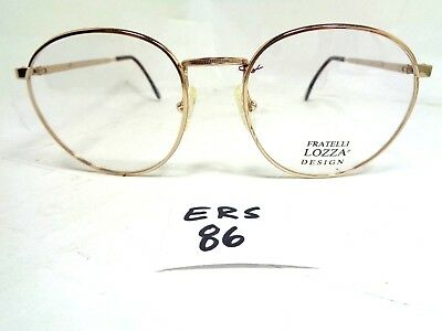 Vtg Fratelli Loza Eyeglass Frame Cardiff 95 Gep Optifashion Round Ers 86 Ebay
