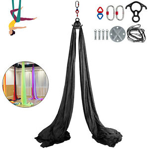 aerial trapeze hammock 11 yards fit yoga swing stand