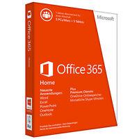 Microsoft Office 365 Home Premium (5 Geräte) - Original Vollversion Key 1 Jahr