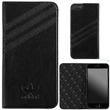 "adidas Book Case Apple iPhone 6 Plus,6s Plus 5,5"" Cover Handy Tasche Schutzhülle"