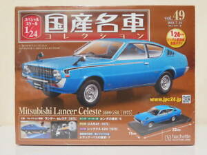 Mitsubishi-Lancer-Celeste-1600-GSR-1-24-Hachette-de-Japon-Coches-Coleccion