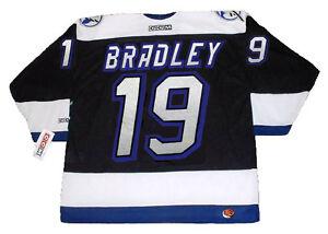 on sale f3304 69ec8 Details about BRIAN BRADLEY Tampa Bay Lightning 1993 CCM Throwback NHL  Hockey Jersey