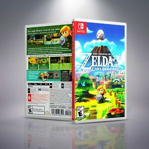 Details About The Legend Of Zelda Link S Awakening Replacement Switch Cover Case No Game