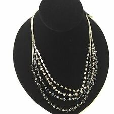Cake Necklace $30 Silver Tone New Over Stock With Out Tags AN56901SJ