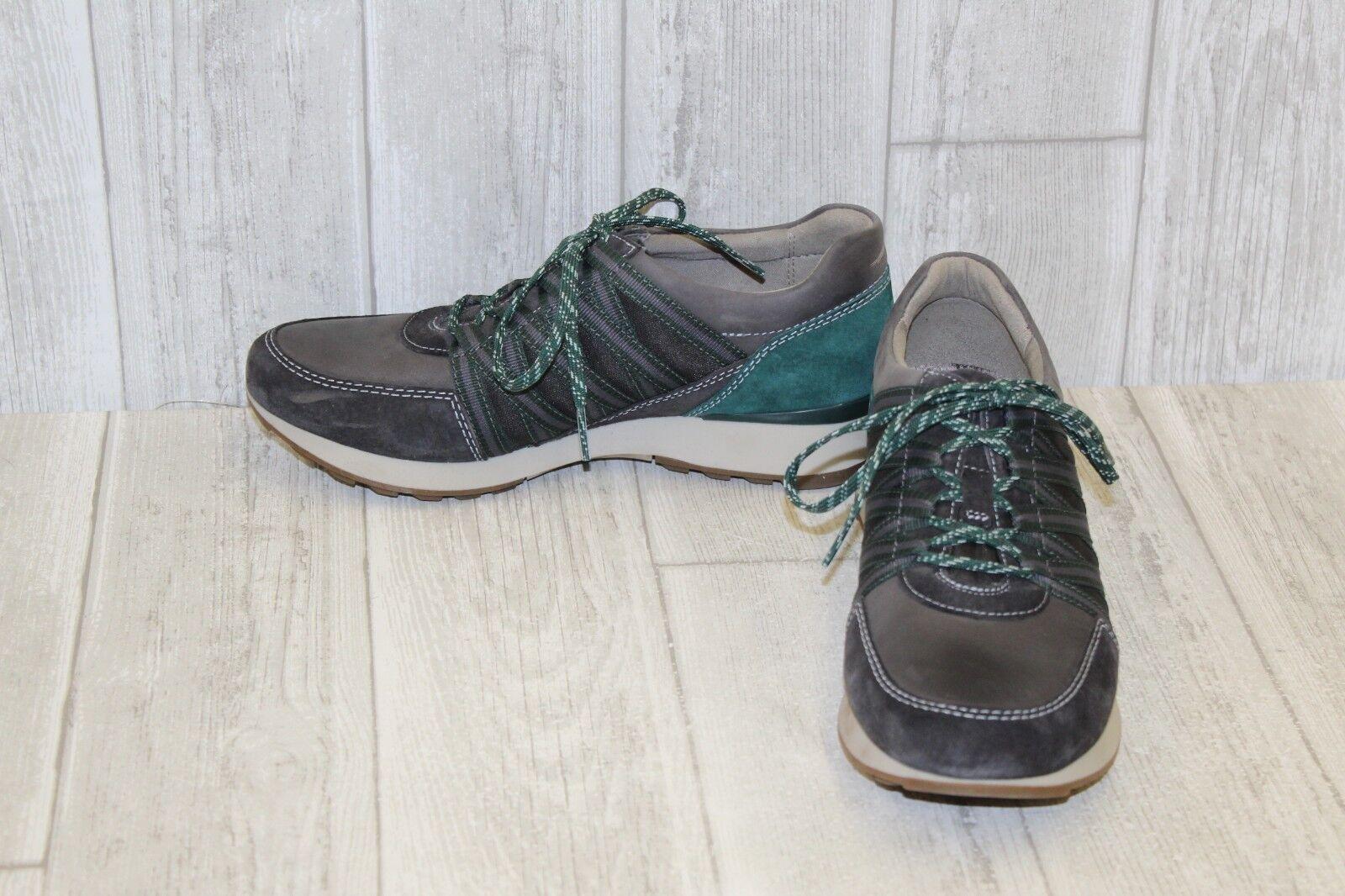 Dansko Gabi Athletic Athletic Athletic Sneaker - Women's Size 6.5-7 - Charcoal Green db22ab