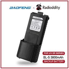 Baofeng 3800mAh UV-5R Extended Battery For 5R Plus BF-F8 V2+ BF-F9 RD-5R DM-5R