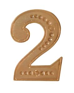 Number 2 Gilded Orange Order Collarette Character