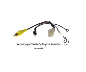 4-Pin-Camera-Adapter-for-Toyota-Retains-Reverse-Camera-APVTY04