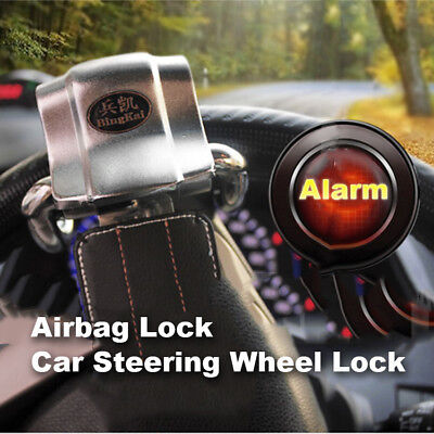AUto Car Top Mount Steering Wheel Anti Theft Security Airbag Lock Safety Hammer