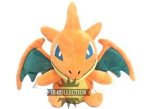 Details About Pokemon Mega Charizard Y 30 Cm Peluche Megacharizard Dracaufeu Glurak Figure X