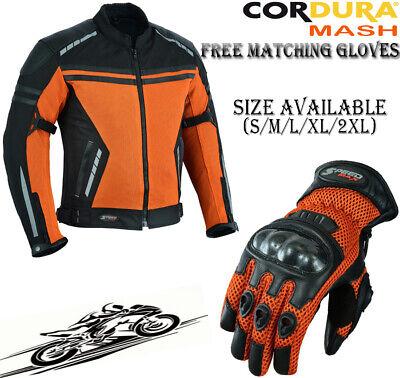 MEN SUMMER MESH SPEED MAXX RANGE MOTORBIKE//MOTORCYCLE//MOTOCROSS TEXTILE /& LEATHER GLOVES L, Hiviz