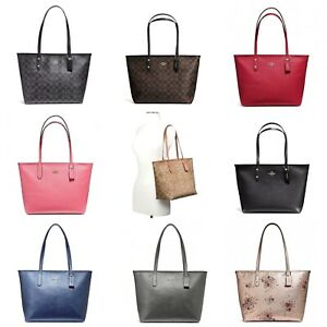 Coach City Zip Tote Outlet Exclusive