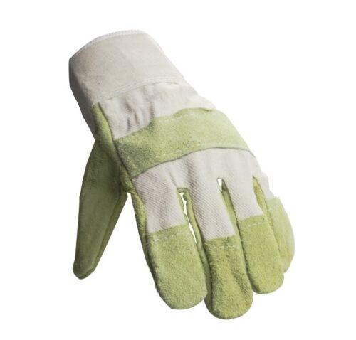 24 x 88 CBWA Rindspaltleder Handschuh helles Leder