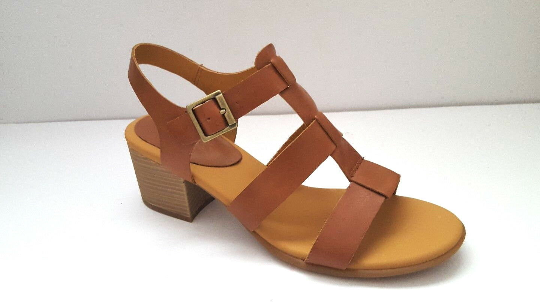 Brand New Kork-Ease Women's Cornelia Leather Heel sandal Sz 10US,42 EUR
