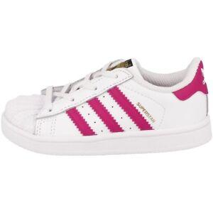 hot sale online f6a19 d66db Caricamento dell immagine in corso Adidas-Superstar-i-Kids-Scarpe-Bambino -Originals-da-