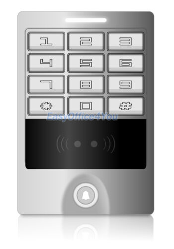 Outdoor Alloy Shell 125KHz H10301 Card  Access Control Keypad Machine Waterproof