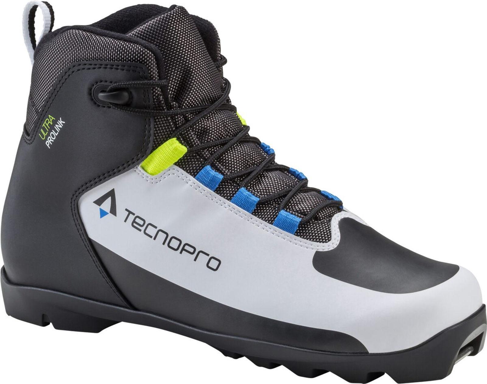 Tecno pro men Langlauf - Scarpa Ultra Prolink Bianco black blue 270426