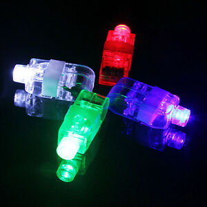 Led Finger Ring Light Laser Beam