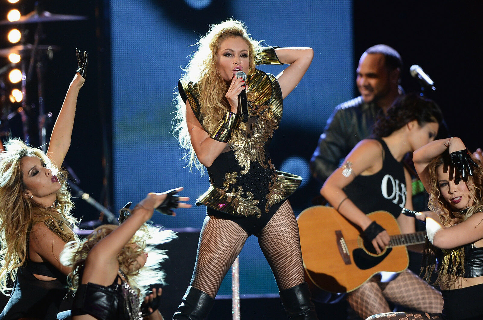 Image result for Paulina Rubio concert