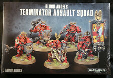 Warhammer 40K Blood Angels Terminator Assault Squad (41-13)  NEW